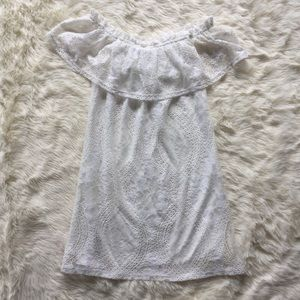 NWT Speechless White Lace Mini Dress sz S